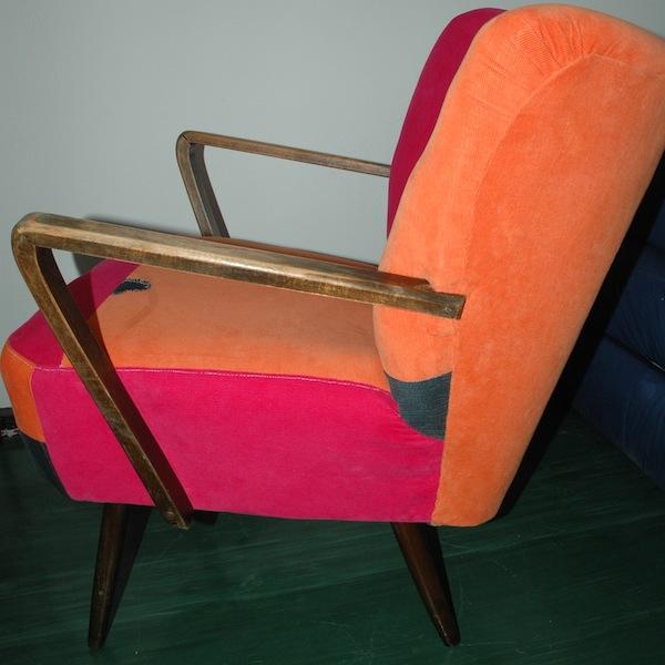 Einmal alt, jetzt neuer Stuhl